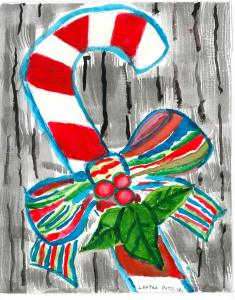 """Candy Cane"" - Lester E. Potts, Jr."